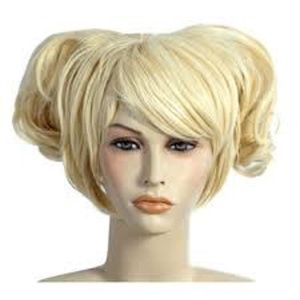 Blonde Anime Cosplay Adult Wig (One Size)